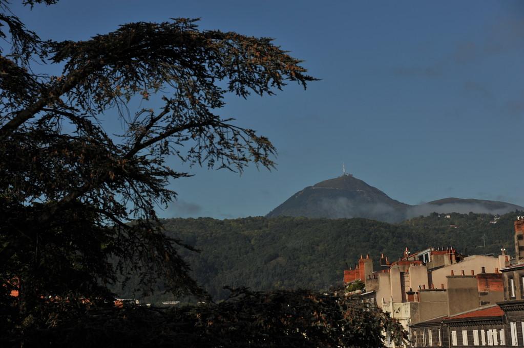 Le Puy de Dôme depuis Clermont-Ferrand