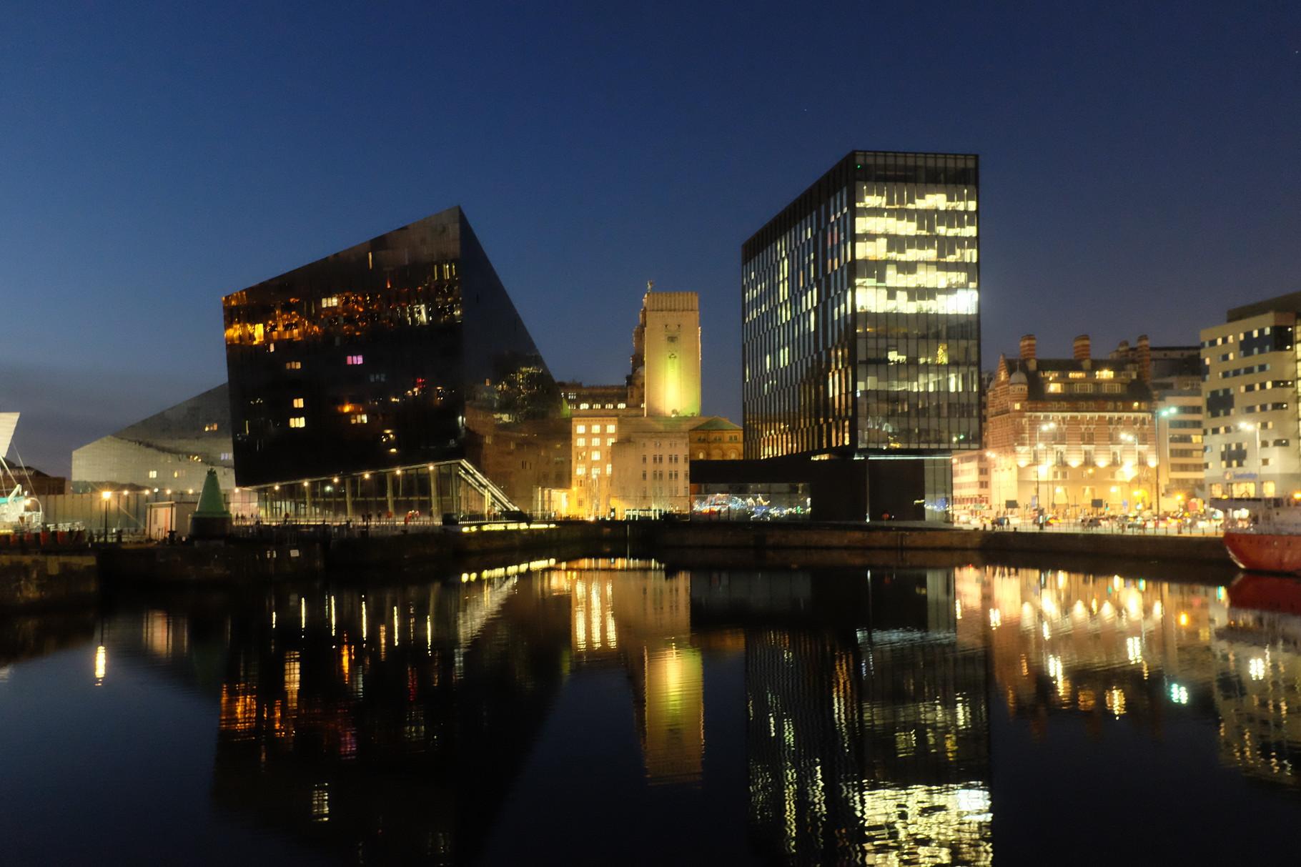 Liverpool, le port