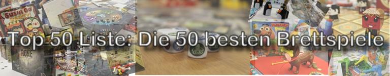 Die 50 besten Brettspiele