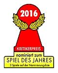 Spiel des Jahres 2016 Nominierungen