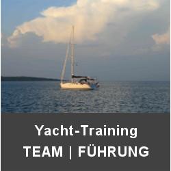 Teamtraining / Führungskräftetraining / -entwicklung / Yacht / Segelyacht