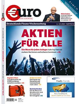 Die Anlegerzeitschrift Euro am Sonntag gehört zu den Kunden von report media