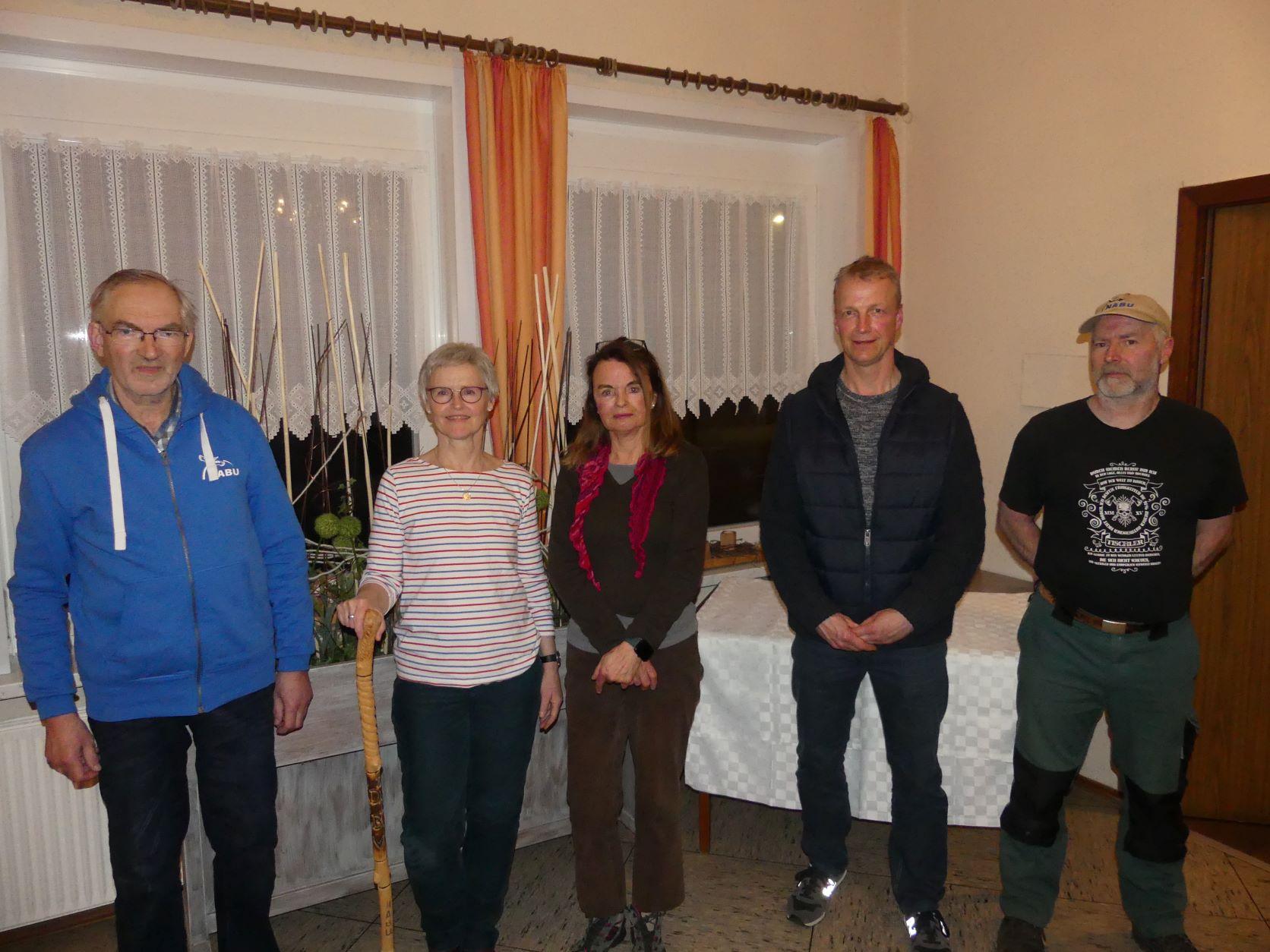 Vorstand des NABU Altkreis Norden