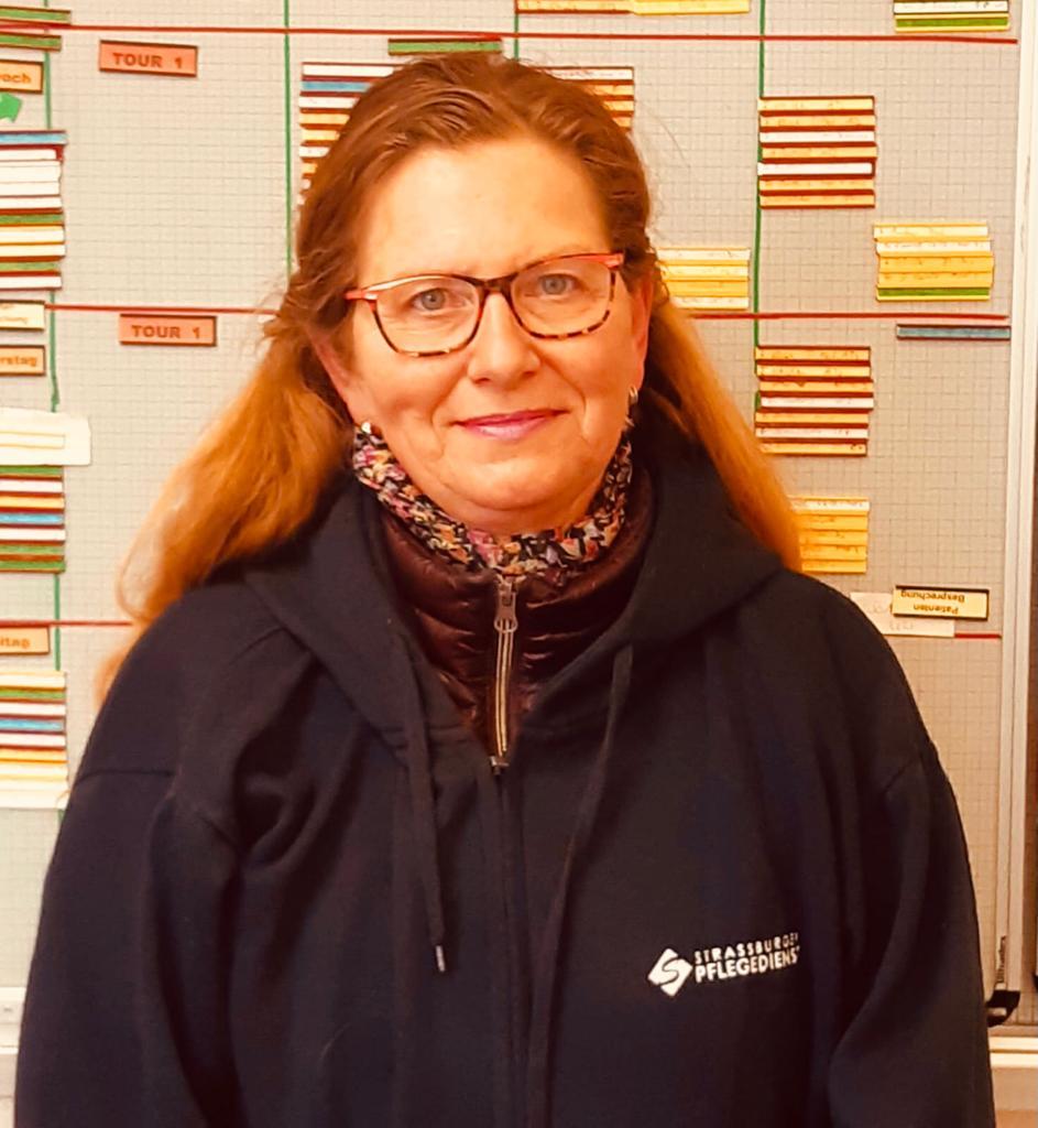 Karin Günther, Krankenpflegehelferin