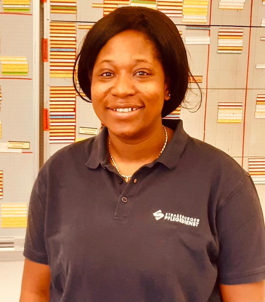 Marie Mumuni Timtey, Gesundheitspflegeassistentin