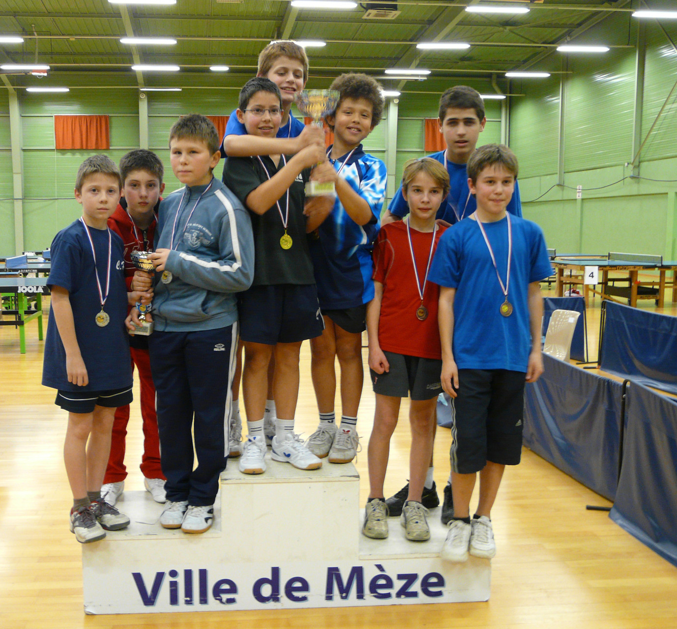 Interclubs 2010 à Mèze
