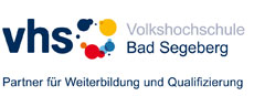 Logo Volkshochschule Bad Segeberg