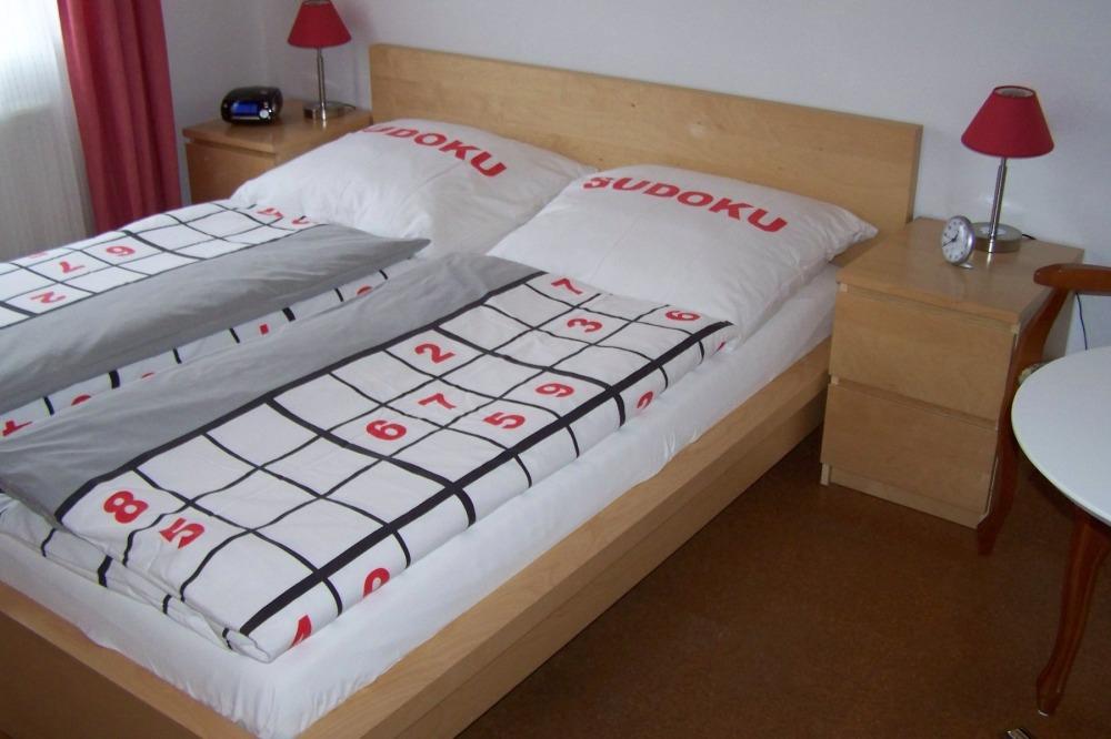 Schlafzimmer - FeWo Herms