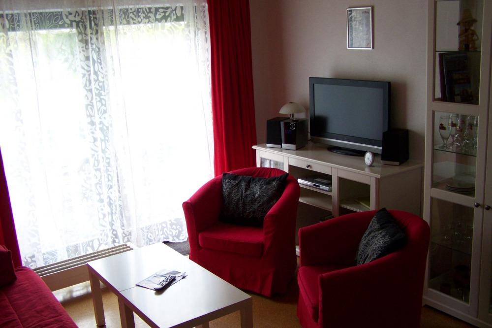 Wohnzimmer- FeWo Herms
