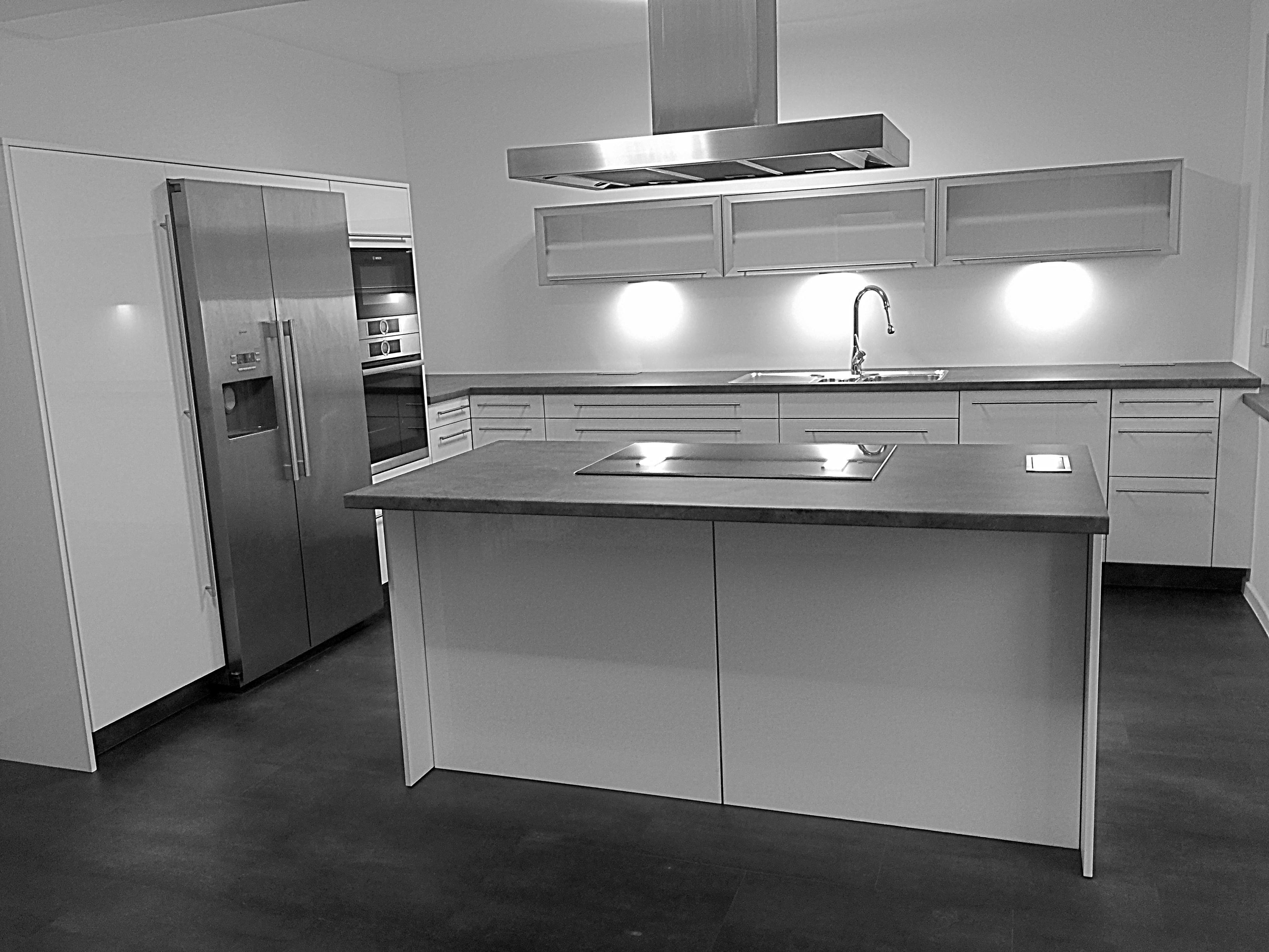 altweiße Küche