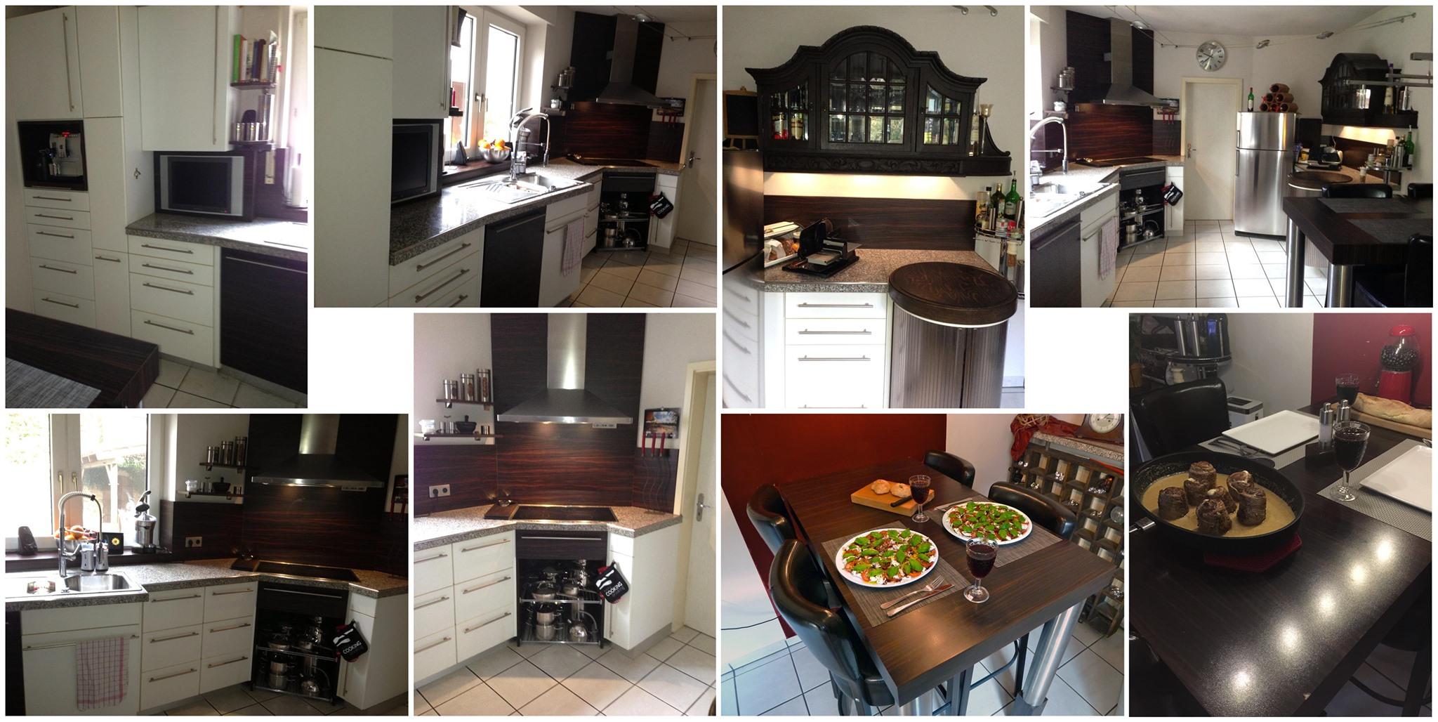 ursprüngliche, nunmehr renovierungsbedürftige Küche