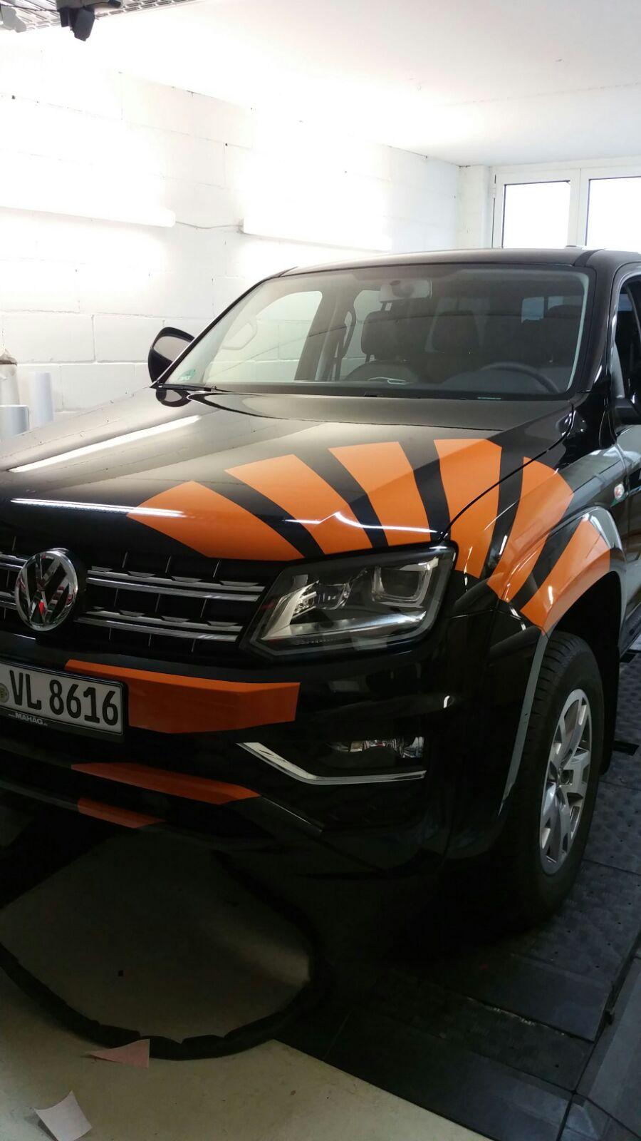 Fahrzeugbeschriftung Entwurf