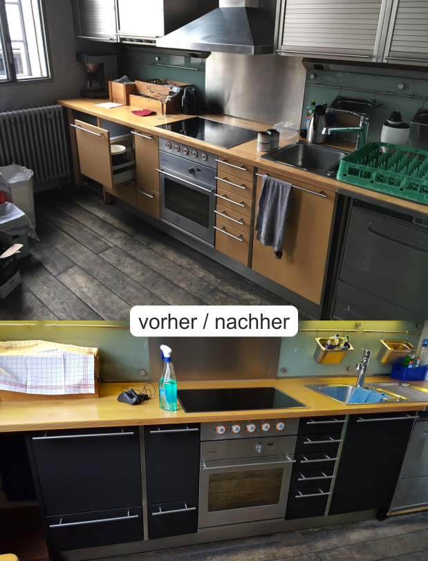Küchenbeklebung