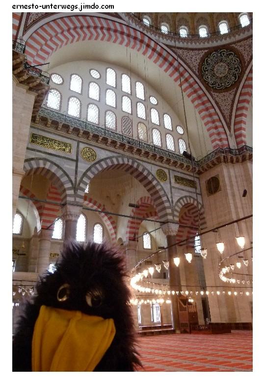 In der Süleymaniye Moschee
