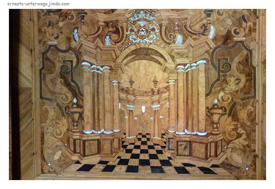 Intarsien im Dom