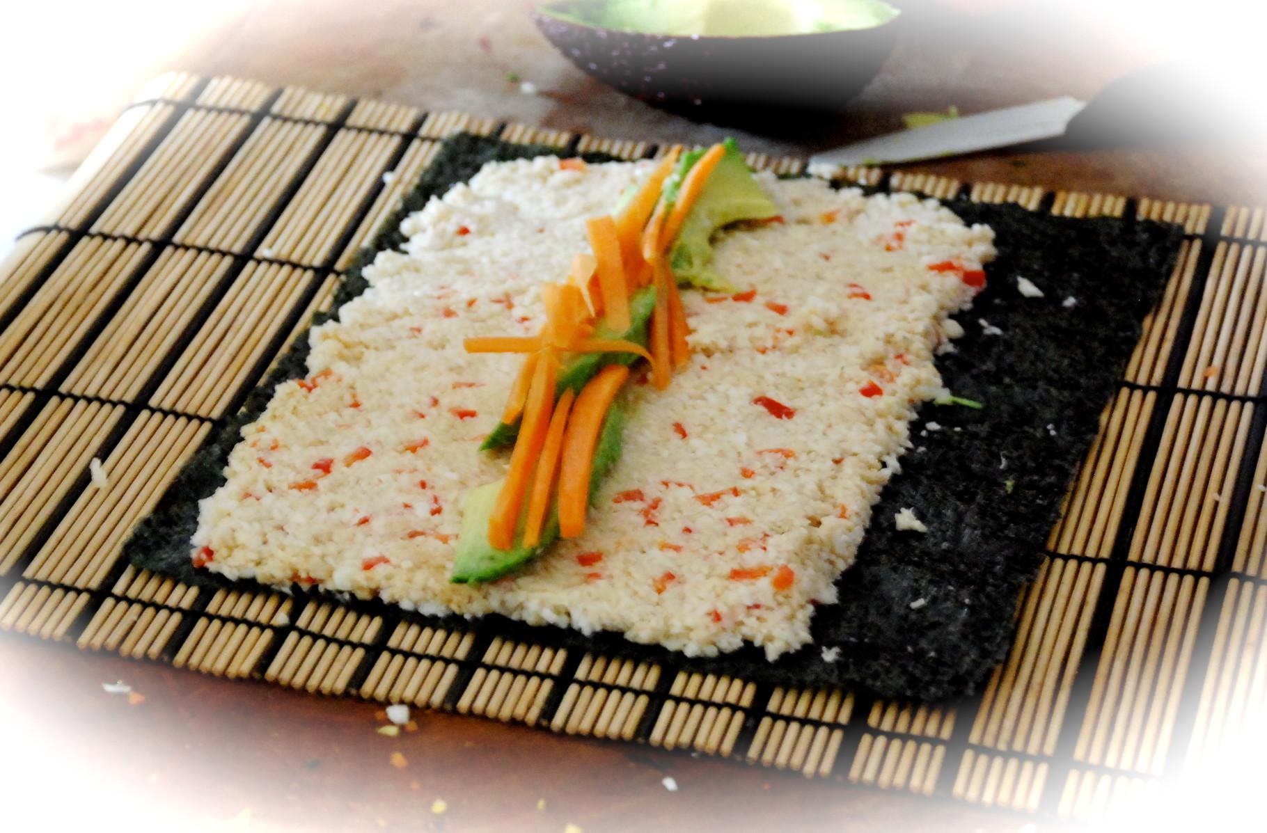 Sushi crudivégano