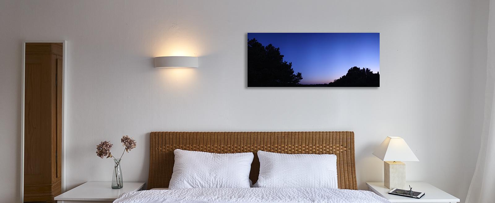 Bildbeispiel in der Größe 40 x 100cm