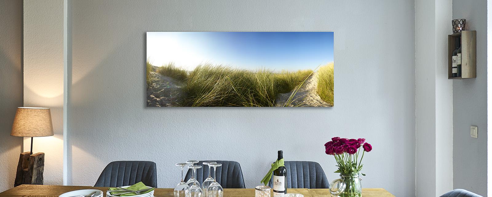 Bildbeispiel in der Größe 70 x 170 cm