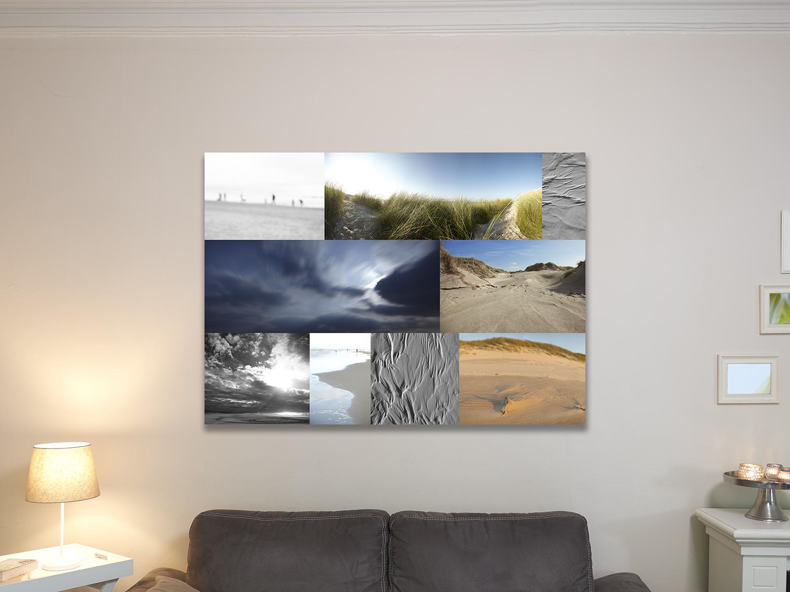 Bildbeispiel in der Größe 100x140cm