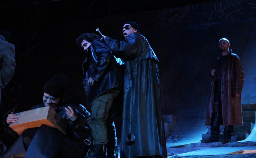 Elisabeth Lang (Maja) - Sébastien Soulès (Baal) - Michael J. Schwendinger (Bettler) - Michael Wagner (Ekart)