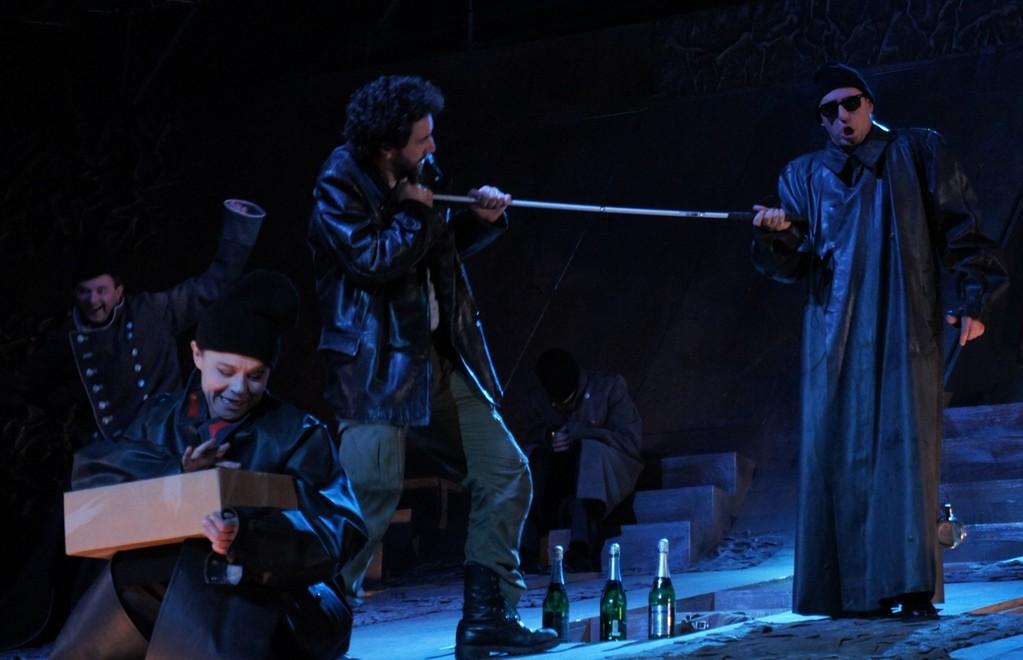 Oliver Ringelhahn (Gougou) - Elisabeth Lang (Maja) - Sébastien Soulès (Baal) - Michael J. Schwendinger (Bettler)