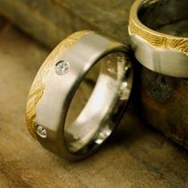 Handabdruck Ringe