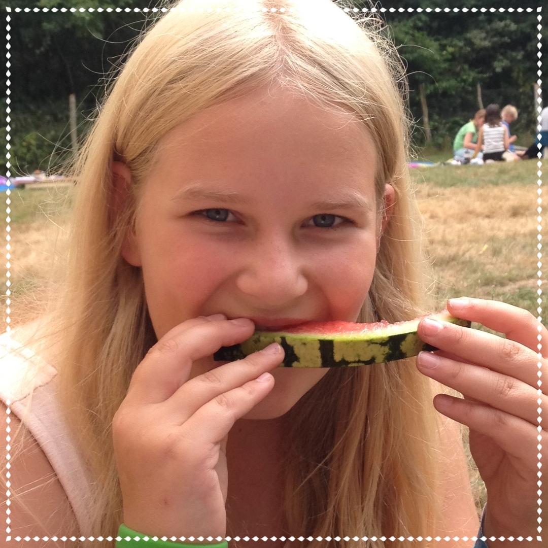 hmmm... Wassermelone