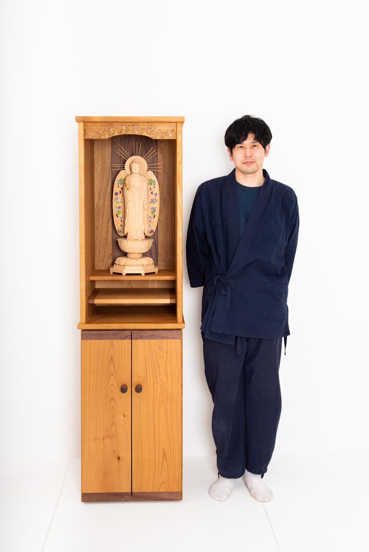 木彫りのオーダーメイド仏壇・仏像