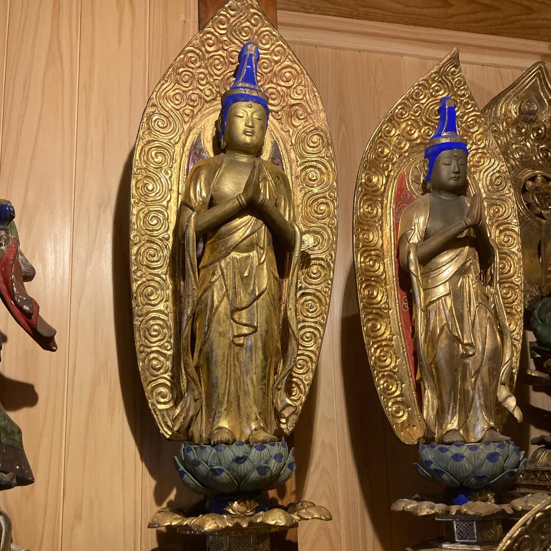 石川県金沢市 仏像修理