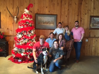 Happy New Year from Our Family to Your Family!                                            Photo taken at Chisholm Trail Winery   12/25/2015