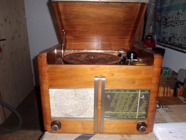 Paillard Typ 426 mit Grammophon 1941
