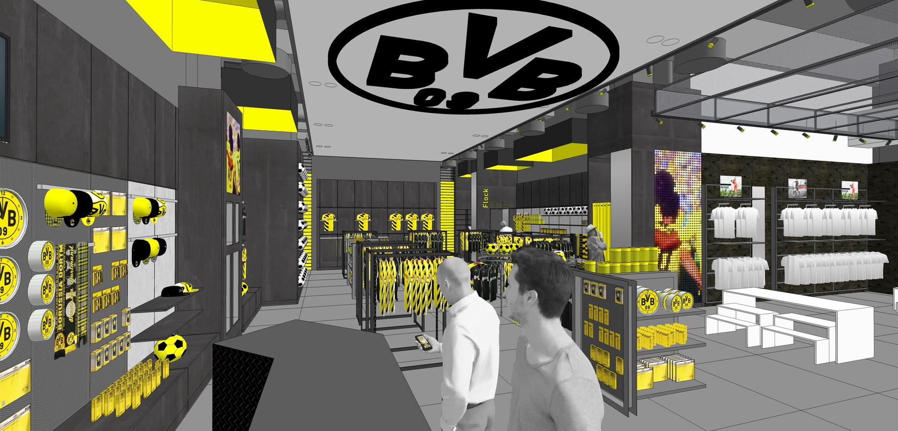 BVB Fanshop | CentrO Oberhausen