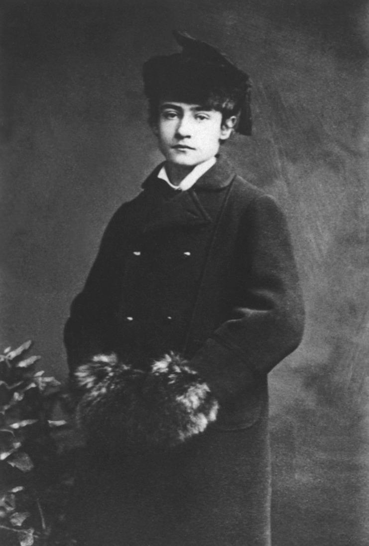 Alfred Schuler mit 13 Jahren