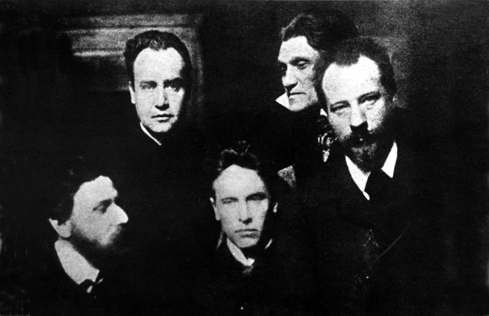 Die Münchner Kosmiker um 1900: Karl Wolfskehl, Alfred Schuler, Ludwig Klages, Stefan George und Albert Verwey