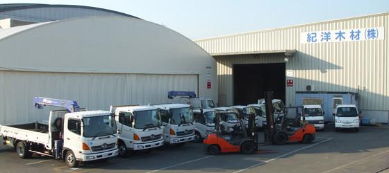 弊社所有の配送車両
