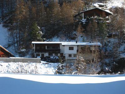 """""""Ferienhaus ANNA"""" im Winter"""