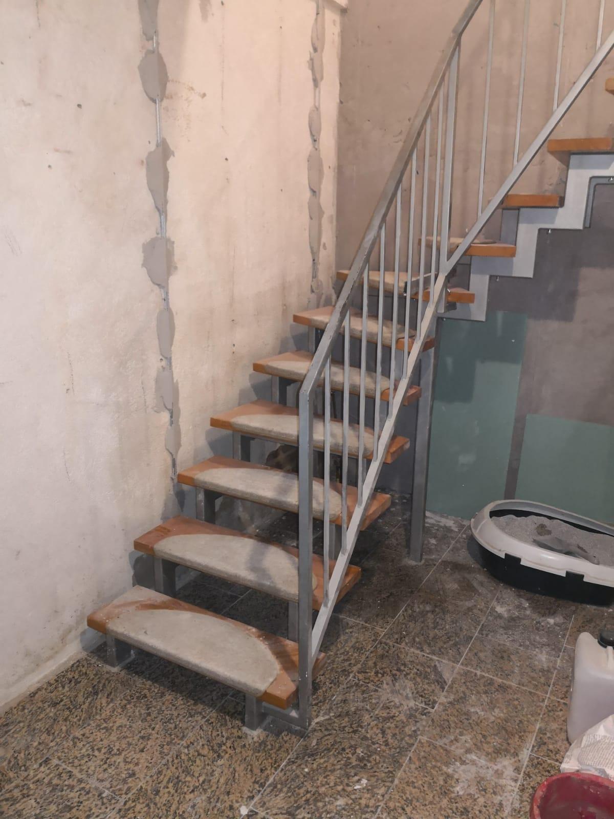 Alte Treppenanlage
