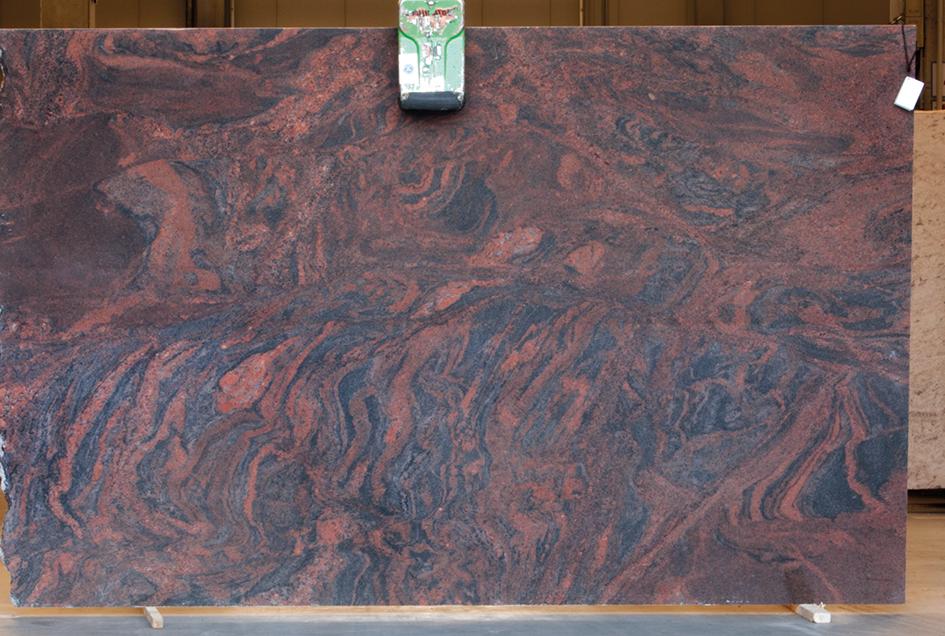 Multicolor Rot -Granit
