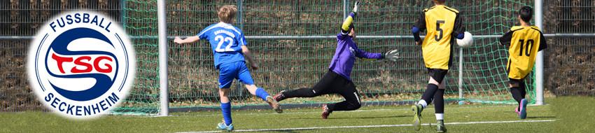 Tor im Fussball der TSG Seckenheim