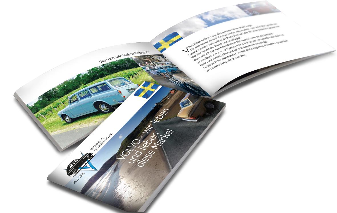 Volvo-Club Deutschland: Imagebroschüre