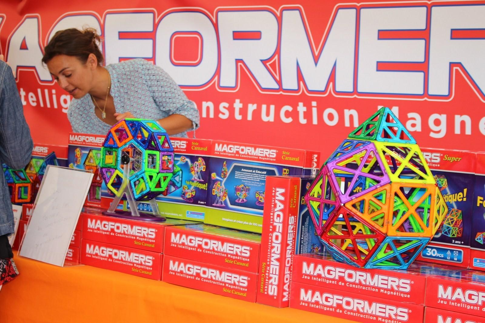 Les magformers : des pièces aimantées pour se créer ses propres univers