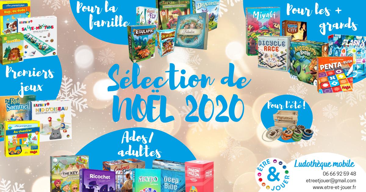 La sélection de Noël 2020 de la ludothèque