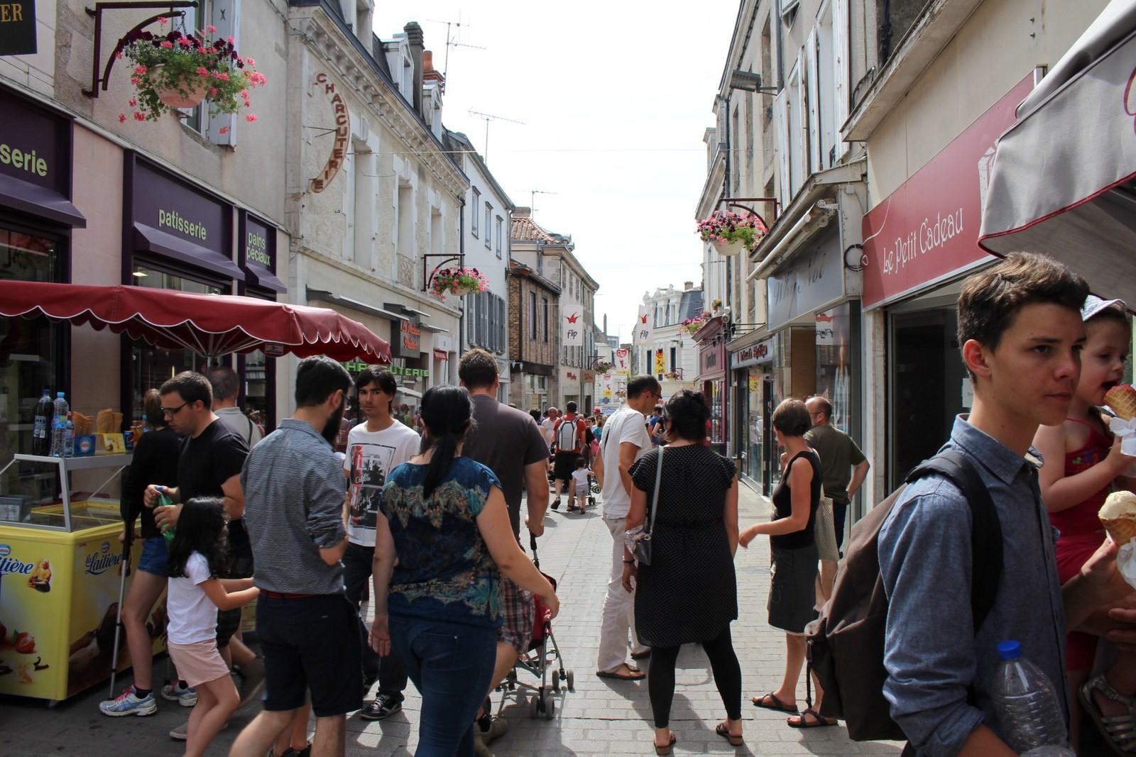 Les rues du centre-ville transformées en terrain de jeu tous les après-midis pendant 11 jours