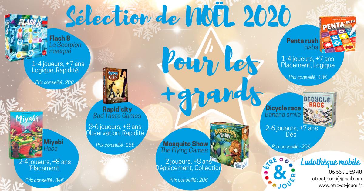 """La sélection de Noël 2020 : """"pour les plus grands"""""""