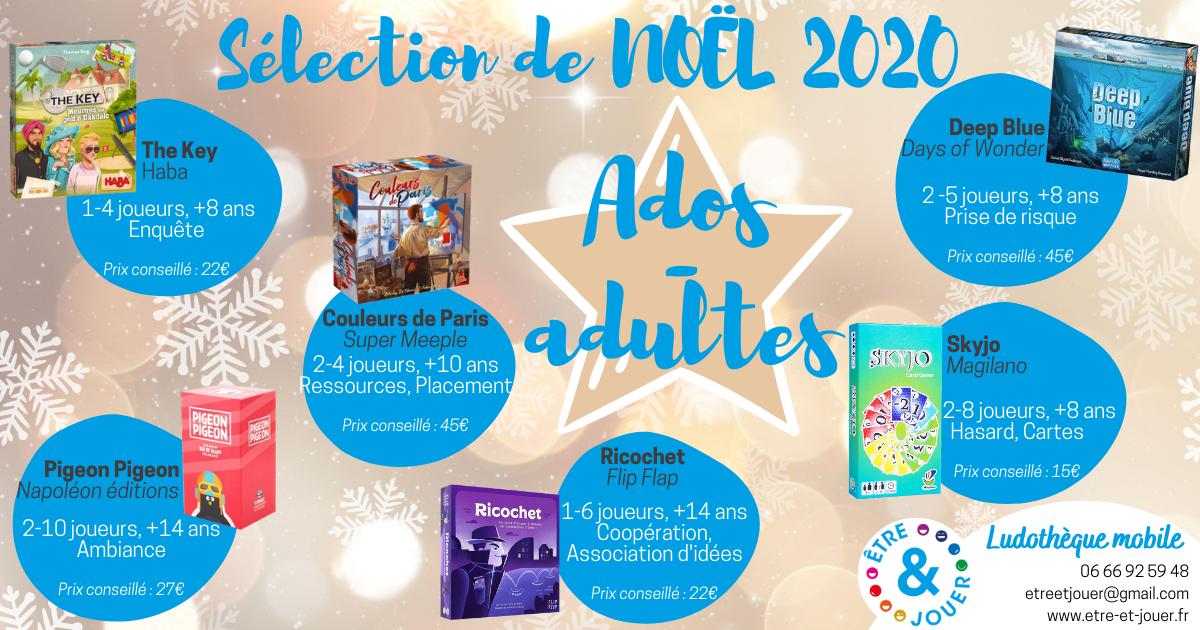 La sélection de Noël 2020 : pour les ados-adultes