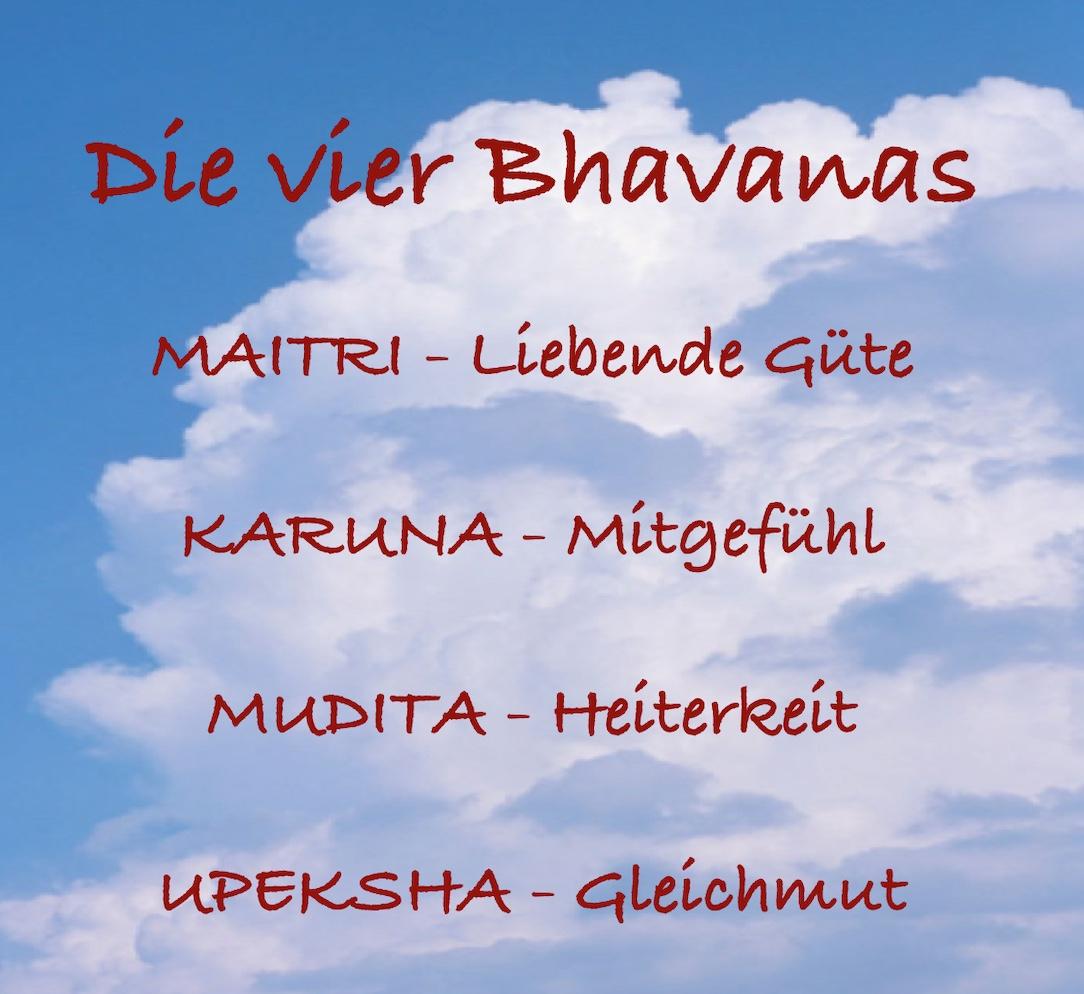 Die vier Bhavanas