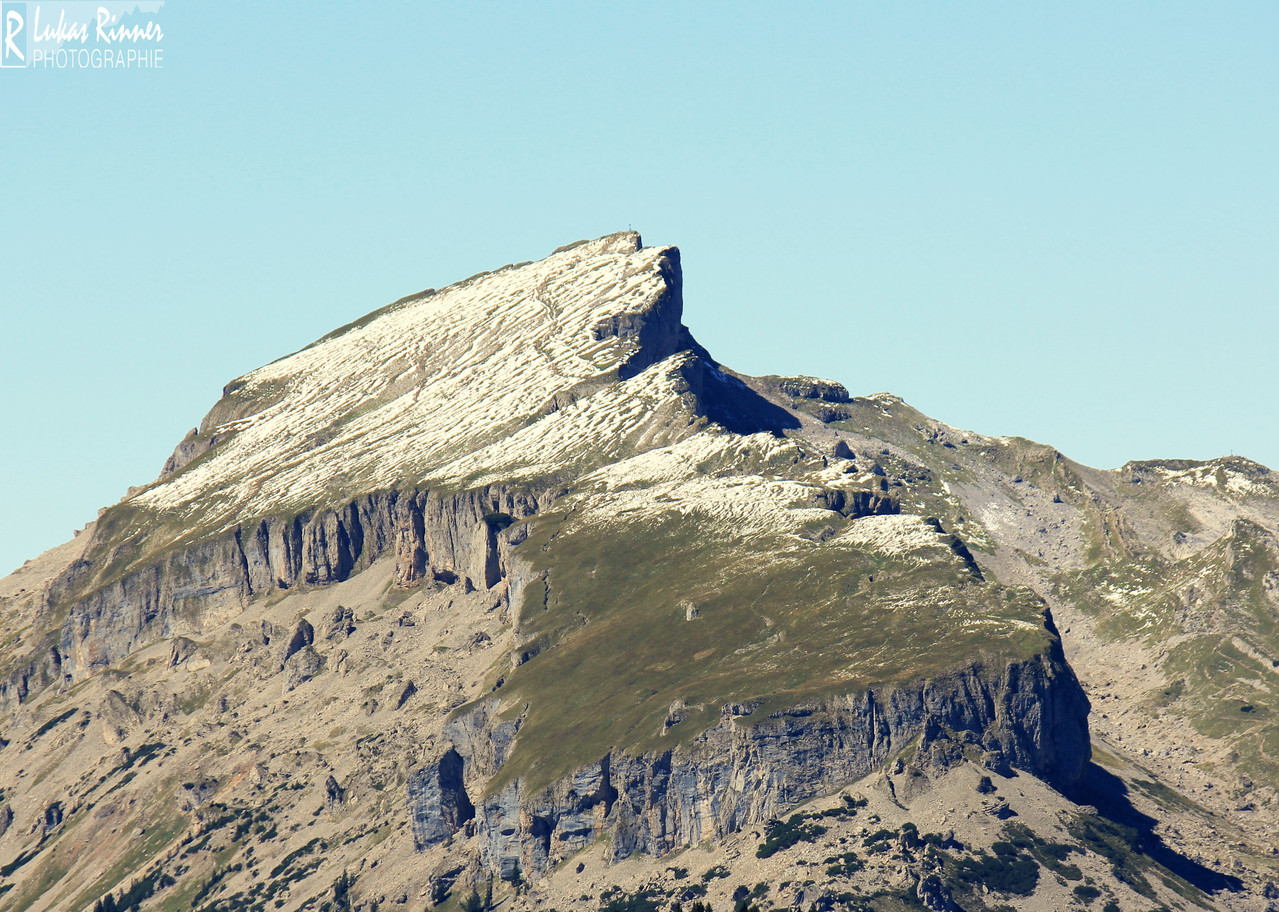 Hintere Wildenalpe, Blick Richtung Hoher Ifen, Kleinwalsertal