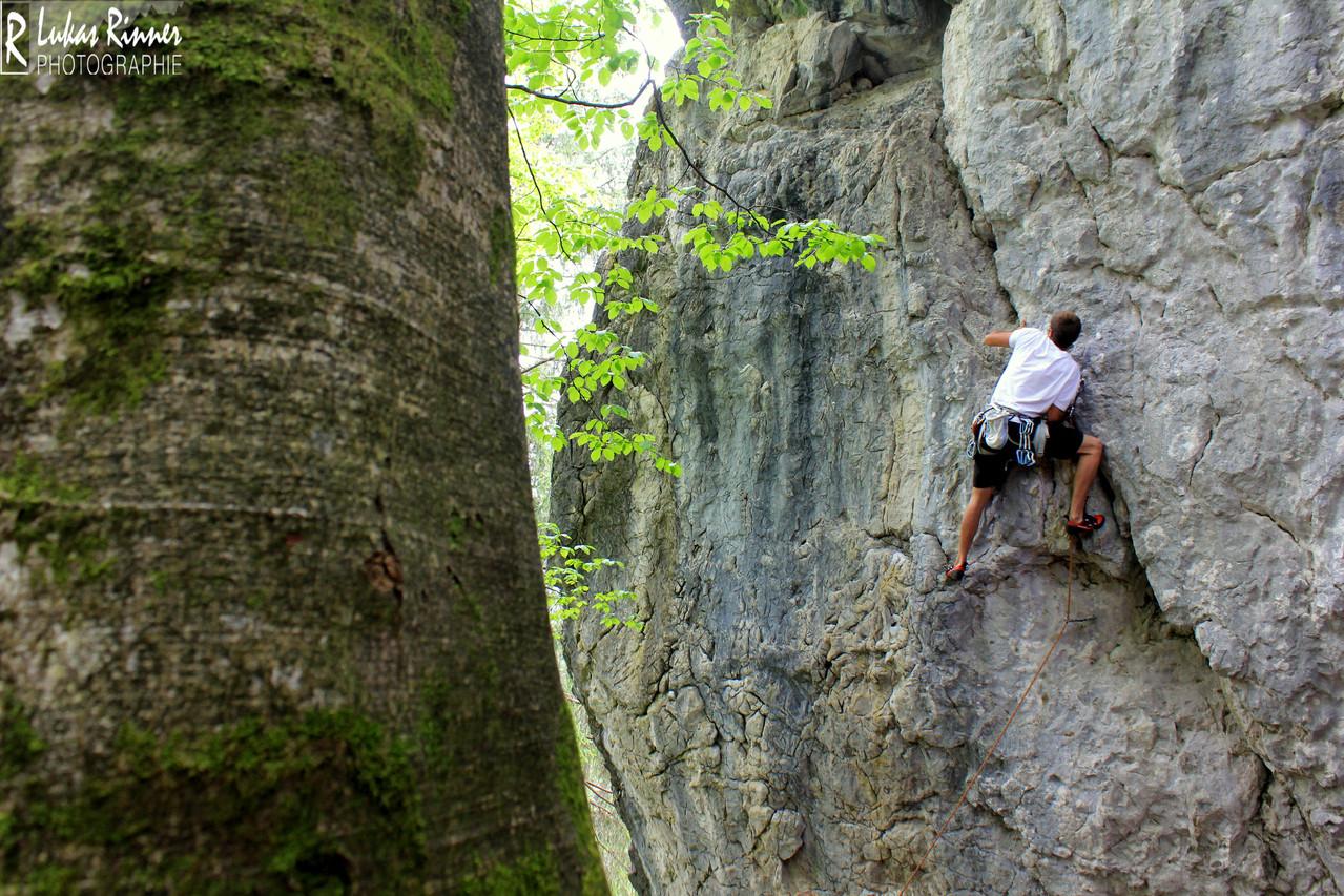 Klettern, Fellhorn, Allgäi