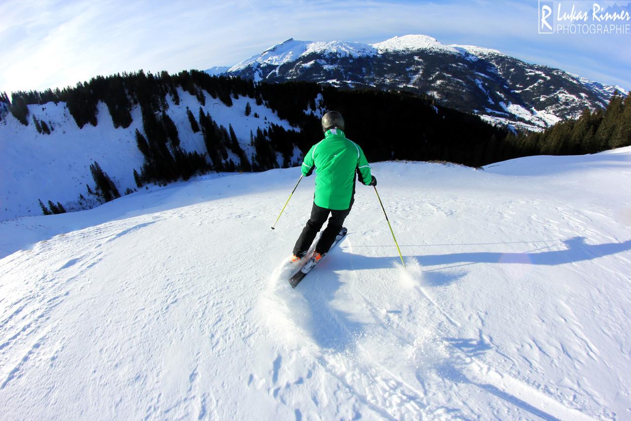 Oliver Rinner, Skiing, Zwerenalpe, Stütze 6