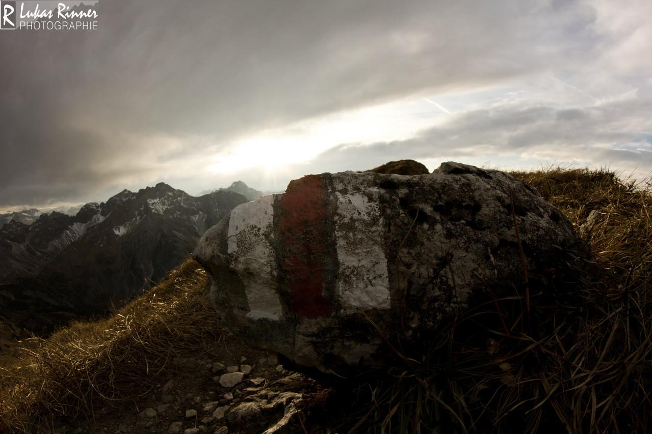 Hammerspitze, Kleinwalsertal